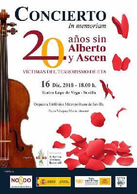 Concierto: 20 años sin Alberto y Ascen en el Teatro Lope de Vega de Sevilla