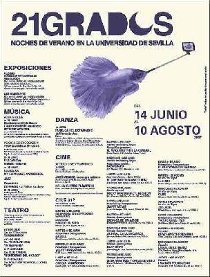 Cine de verano en 21 grados 2017 Sevilla