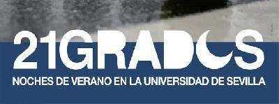Cartel del ciclo estival 21 Grados 2019 del Centro de Iniciativas Culturales de la Universidad de Sevilla (CICUS)