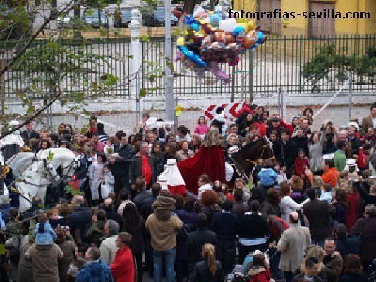 Recorrido del Heraldo Real por Sevilla 2013