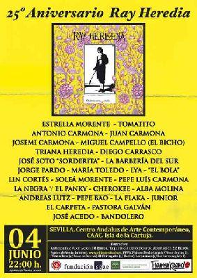 Concierto 25º Aniversario Ray Heredia en el CAAC de Sevilla