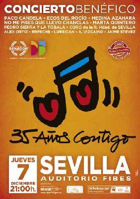 Concierto benéfico 35 años contigo en Fibes Sevilla 2017