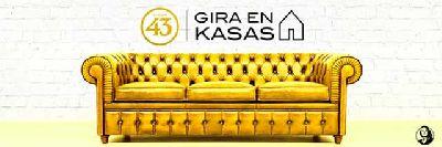 Cartel del ciclo 43 Gira en Kasas