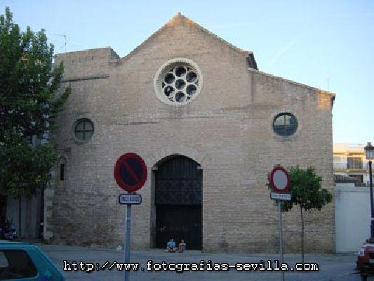 Foto de la antigua iglesia de Santa Lucía actual Centro de Documentación de las Artes Escénicas de Andalucía