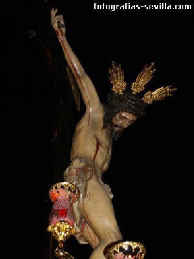 Foto del Cristo de la Salud de San Bernardo de la Semana Santa de Sevilla