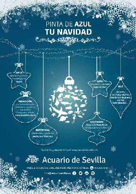 Actividades en el Acuario de Sevilla (Navidad 2016-2017)
