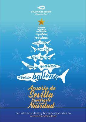 Actividades en el Acuario de Sevilla (Navidad 2017-2018)