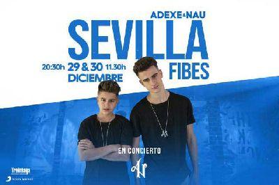Concierto: Adexe y Nau en Fibes Sevilla (diciembre 2018)