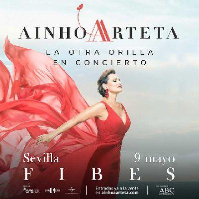 Cartel del concierto de Ainhoa Arteta en Fibes Sevilla 2020