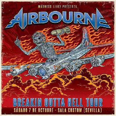 Concierto: Airbourne en Custom Sevilla 2017