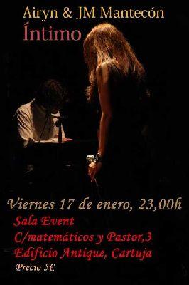 Concierto: Airyn y JM Mantecón en la Sala Events de Sevilla