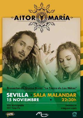 Concierto: Aitor y María en Malandar Sevilla 2018