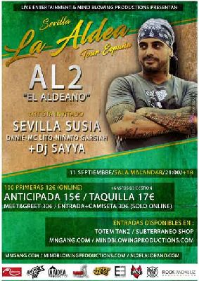 Concierto: Al2 El Aldeano en Malandar Sevilla