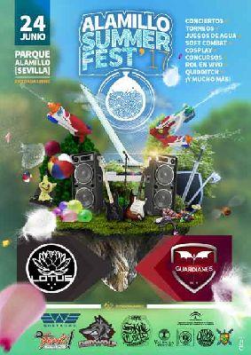 Alamillo Summer Fest 2017 en el parque del Alamillo de Sevilla