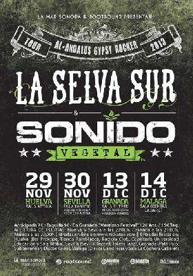 Concierto: La Selva Sur y Sonido Vegetal en Sala Fanatic Sevilla