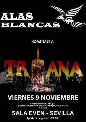 Concierto: Alas Blancas en la Sala Even Sevilla 2018