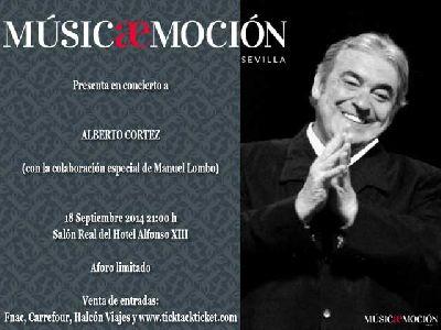 Concierto: Alberto Cortez en el Hotel Alfonso XIII Sevilla