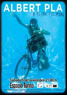 Concierto: Albert Pla, A pleno pulmón en el Espacio Turina de Sevilla
