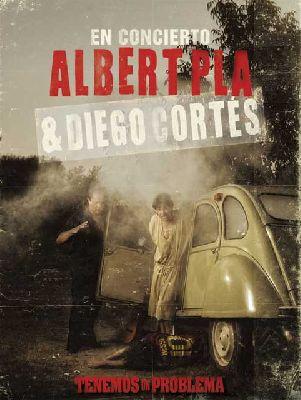 Concierto: Albert Pla y Diego Cortés en Nocturama 2012