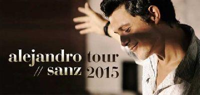 Concierto: Alejandro Sanz en Sevilla 2015