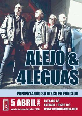 Concierto: Alejo & 4Leguas en la sala FunClub Sevilla