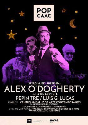 Concierto: Alex O'Dogherty y Pepín Tre en Pop CAAC Sevilla 2017