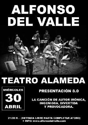 Concierto: Alfonso del Valle en el Teatro Alameda de Sevilla