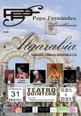 Pasarela Algarabía en el Teatro Quintero de Sevilla