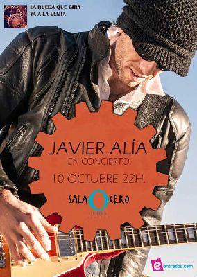 Concierto: Javier Alía en la Sala Cero de Sevilla