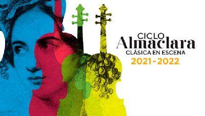 Cartel del ciclo Almaclara Clásica en escena 2021-2022 en la Sala Cero de Sevilla