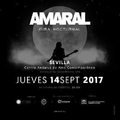 Concierto: Amaral en el CAAC Sevilla 2017