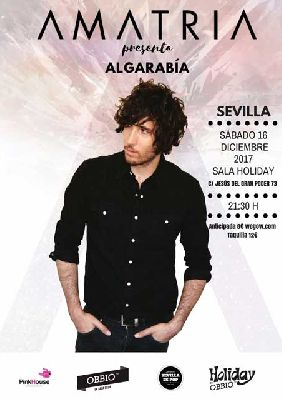Concierto: Amatria en la Sala Holiday de Sevilla 2017