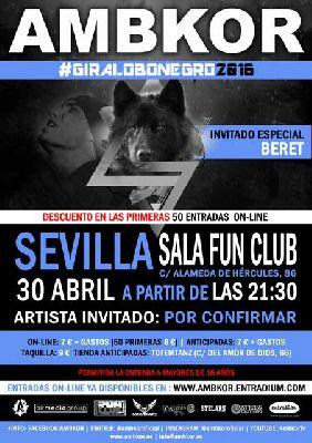 Concierto: Ambkor en FunClub Sevilla (abril 2016)