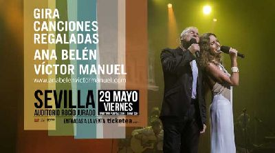 Concierto: Ana Belén y Víctor Manuel en Sevilla