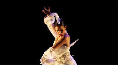 Foto promocional de la bailaora Anabel Veloso