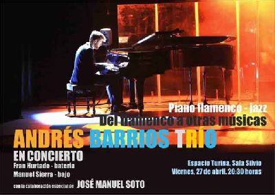 Concierto: Del flamenco a otras músicas en el Espacio Turina de Sevilla 2018