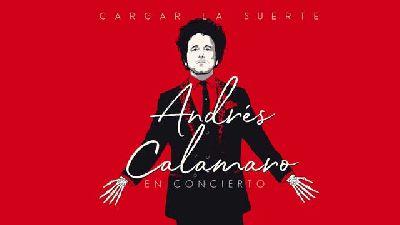 Cartel de Andrés Calamaro, Cargar la suerte en concierto