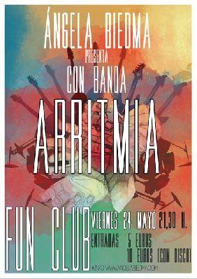 Concierto: Angela Biedma en Sevilla (FunClub)
