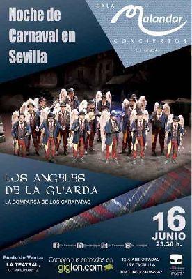 Carnaval: Los Ángeles de la Guarda en Malandar Sevilla 2018