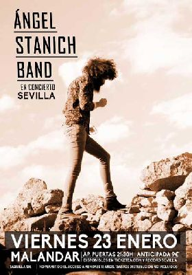 Concierto: Ángel Stanich en Malandar Sevilla