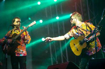 Foto del grupo Antílopez en un concierto