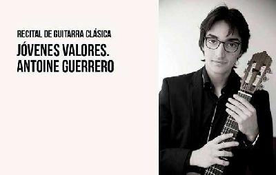 Cartel del concierto de Antoine Guerrero en el CICUS de Sevilla