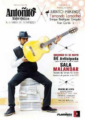 Concierto: Antoñito Heredia en Malandar Sevilla