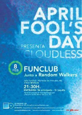 Concierto: April Fool's Day y Random Walkers en FunClub Sevilla