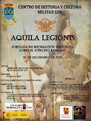 Jornada y recreación sobre el ejército romano en el Museo Militar Sevilla