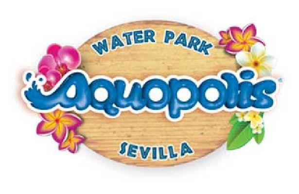Logotipo del parque acuático de Sevilla Aquópolis