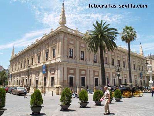 Foto del Archivo General de Indias de Sevilla
