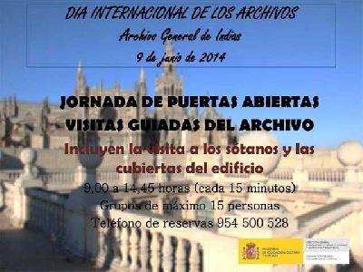 Jornada de puertas abiertas en Archivo Indias Sevilla