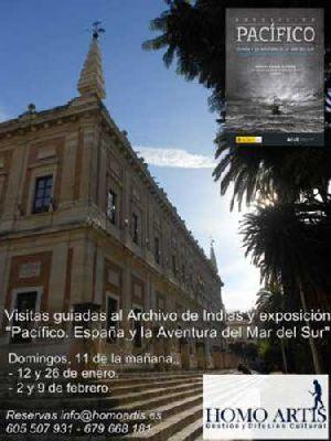Visita guiada de Homo Artis al Archivo de Indias Sevilla (2014)