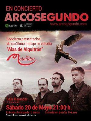 Concierto: Arcosegundo en Malandar Sevilla